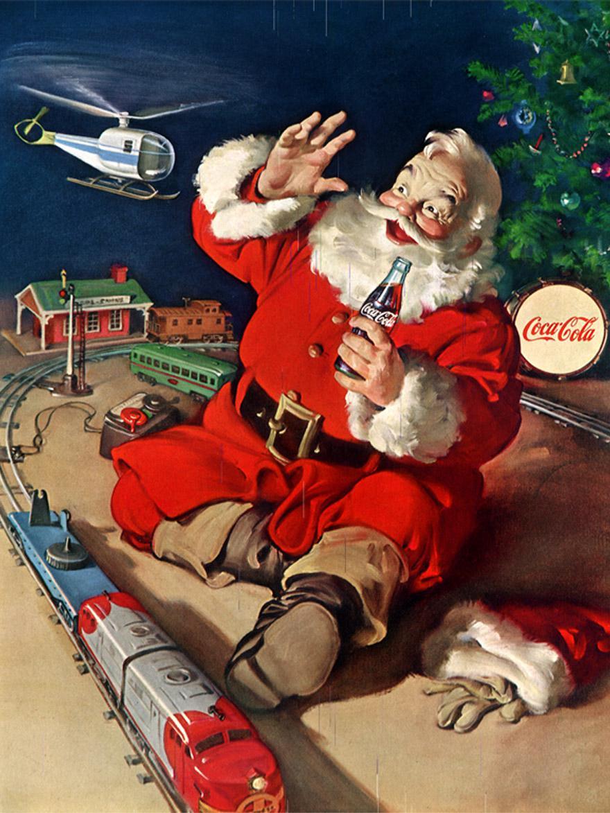 Waar komt de Coca-Cola Kerstman vandaan